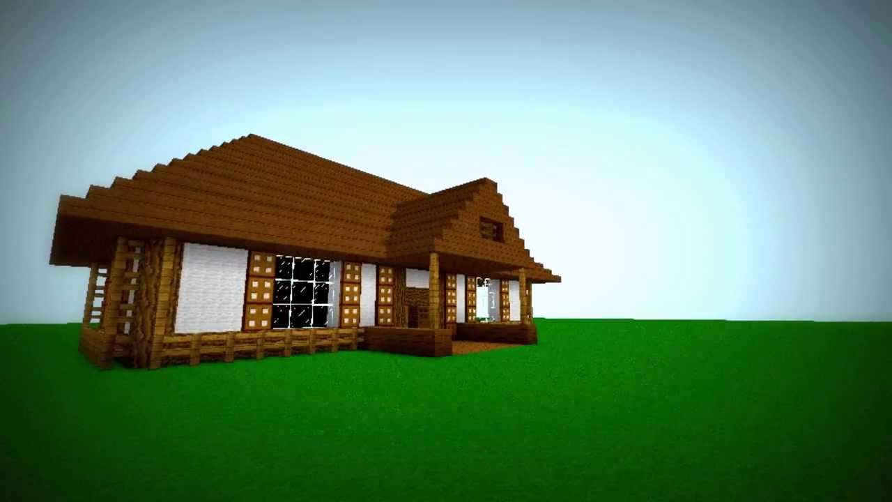 Construir casa de campo beautiful como construir una casa for Casas minecraft planos