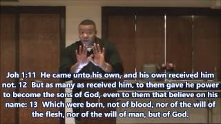 Pastor Larry Austin --- LET GRACE BE GRACE --- The Root of Our Salvation