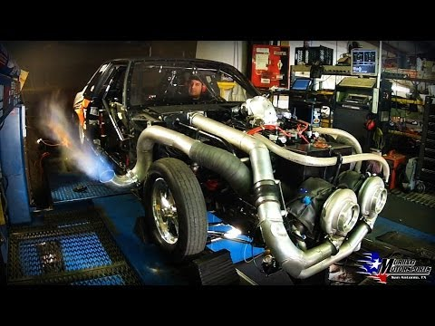 Mike Murillo's Lafawnduh First Dyno on M1 Meth