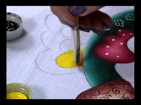 Mulher.com 15/06/2011 - Pintura em tecido
