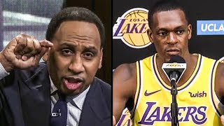Stephen A. Smith BLOWS UP On Rondo After Game