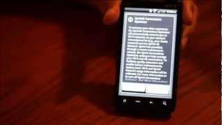 How To Factory Reset HTC EVO To Remove Virus