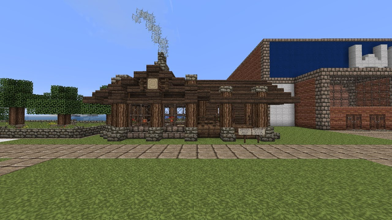 Minecraft how to build a small rustic house tutorial - Quick build houses ...
