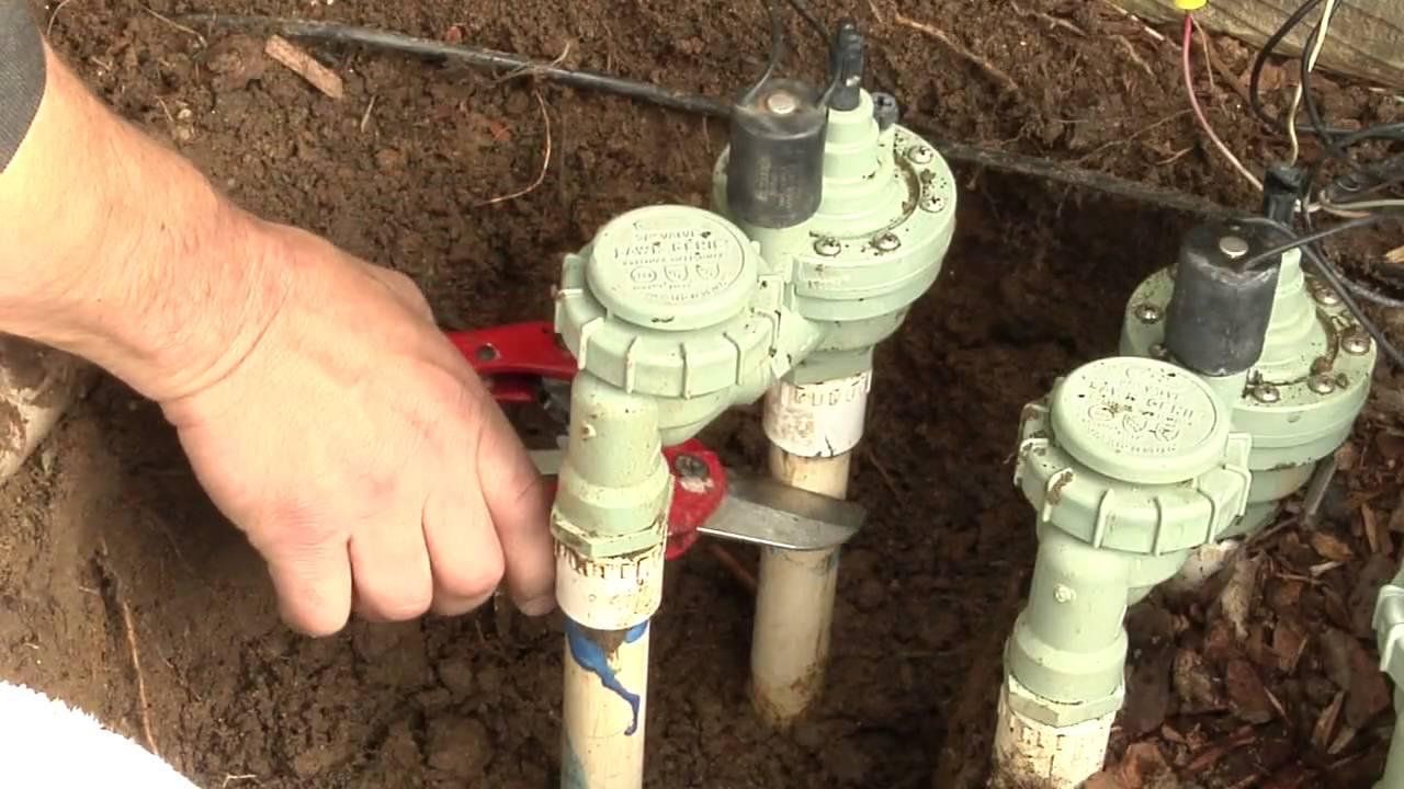City Of Roseville California Sprinkler Valve Replacement