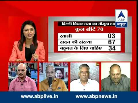ABP News debate: Is BJP ready to form govt in Delhi?
