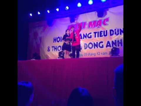 Người Tình mùa Đông Đinh kiến phong tại Hội chợ Đông Anh Hn