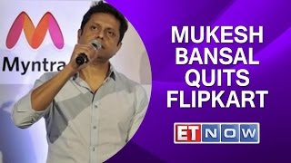 Mukesh Bansal Quits Flipkart