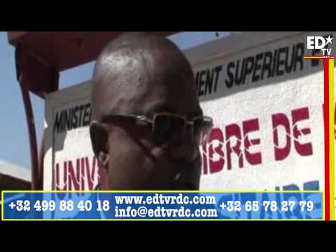 L'UNIVERSITE LIBRE DE KINSHASA  OUVRE UNE EXTENSION A KOLWEZI AU KATANGA