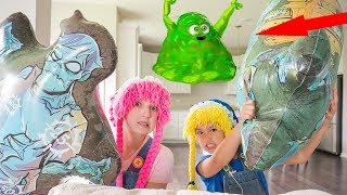 Jugando y Aprendiendo con Slime Monster S4:E88