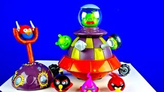 Angry Birds Space Toy That Moves Cool!
