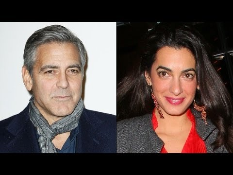 Did Clooney pop the question?