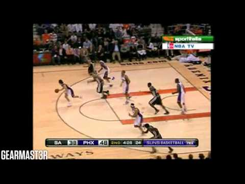 Steve Nash - 25 pts, 13 asts vs Spurs Full Highlights (2009.12.15)