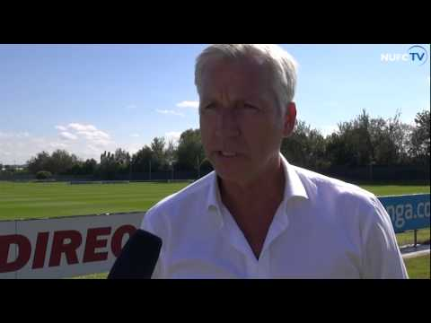 Alan Pardew on Siem de Jong signing
