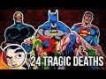 24 Most Tragic Deaths In Comics RnBe