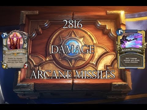 2816 Damage Arcane Missiles