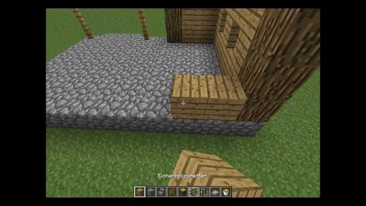 Minecraft Tutorial Schmiede bauen -