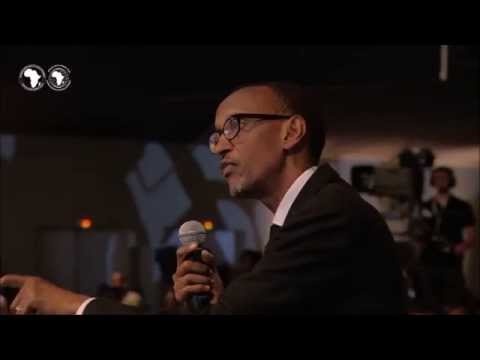 Paul Kagame on African responsibility #AfDBAM2014