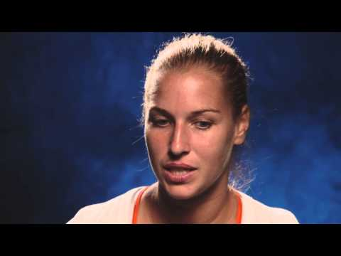 Dominika Cibulkova interview (fourth round) - 2014 Australian Open