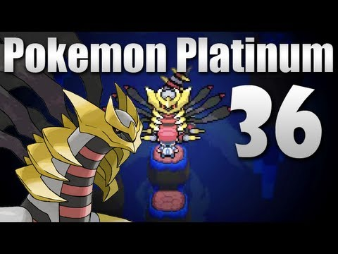 Pok mon platinum episode 36 legendary giratina youtube - Pokemon platine legendaire ...