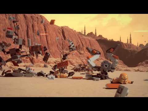 Lego Star Wars minifilm 6 - Klony vs Droidi