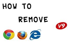 How To Remove V9 Portal Site ( Chrome, Firefox, IE ) (HD