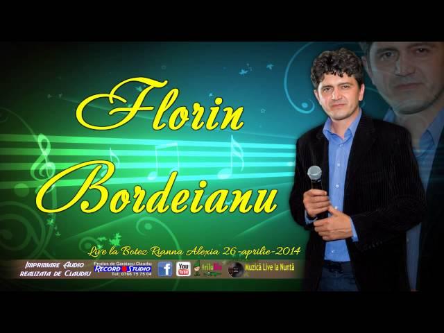 Florin Bordeianu - Verde-i frunza, verde-i iarba LIVE AUDIO Botez Rianna 26-04-2014
