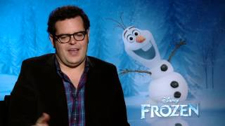 Did Josh Gad Go Method To Play Olaf The Snowman In 'Frozen