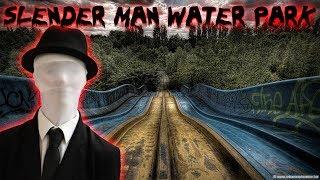 GIANT SLIDES // 24 HOUR CHALLENGE IN AN ABANDONED WATER PARK!   MOE SARGI