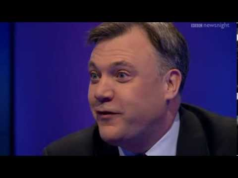 NEWSNIGHT: Ed Balls on the 50p tax, predators and producers and booming Britain