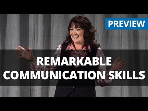 Remarkable Communication Skills - Pamela Jett