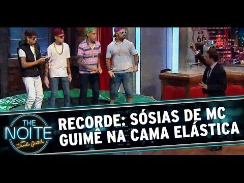 Recordes Mais Incríveis do Mundo: sósias de MC Guimê na cama elástica