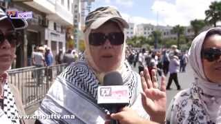 غزة بعيون المغاربة   خارج البلاطو