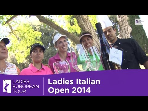 Diana Luna and Victoria Lovelady Stage a Cook Off - Ladies Italian Open 2014