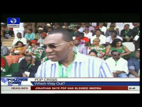 Legal Practitioner Blames Regional Politics For Crack In PDP Pt 5