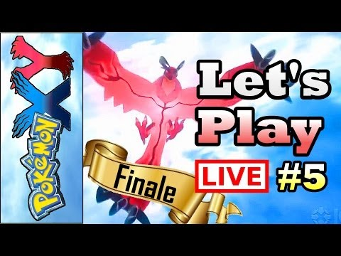 Pokemon X and Y - LIVESTREAM FINALE! - Let's Play Part 5 (3DS Gameplay / Walkthrough / Playthrough)