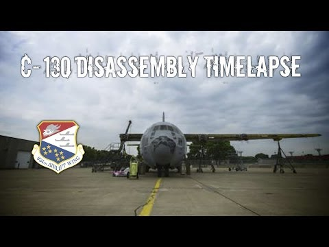 C-130 Disassembly Timelapse