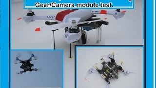 Retractable Landing Gear/Camera Module On Blade 350 QX
