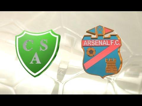 Fútbol en vivo. Sarmiento vs. Arsenal. Fecha 1. Torneo Primera División 2016/2017. FPT