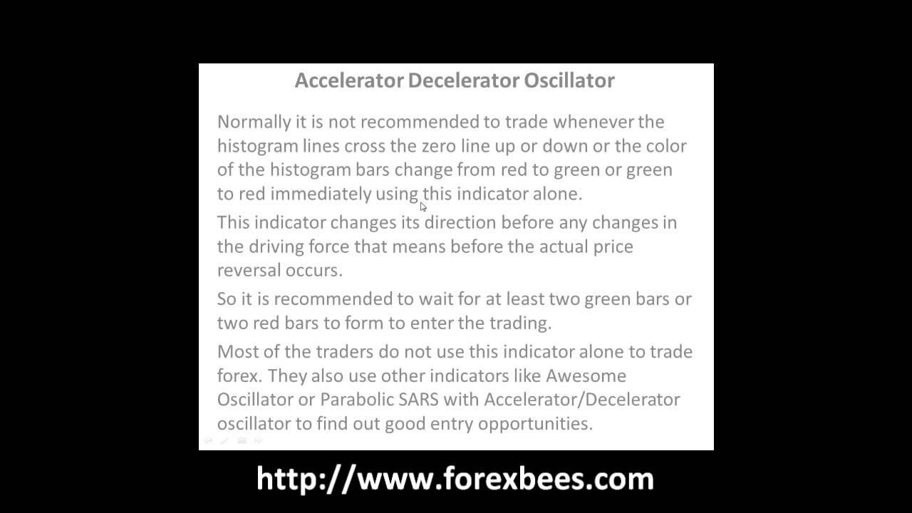 Forex accelerator/decelerator oscillator