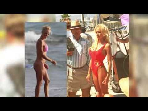 Pamela  Hits Beach In Bikini With Ex Husband