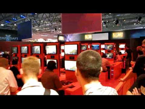 Первые фото и видео с GamesCom.