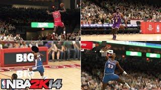 PS4 NBA 2K14 - Epic Dunk Contest Feat. Michael Jordan, Young Kobe, Dr. J & Darryl Dawkins HD