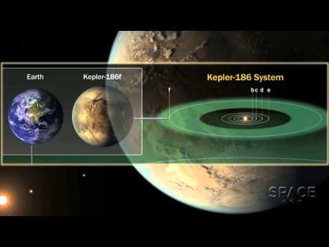 Kepler 186f - New Earth-Size Planet Could Have Water