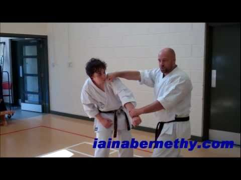 Practical Kata Bunkai: Advanced Naihanchi / Tekki-Shodan Arm-Control Flow Drill