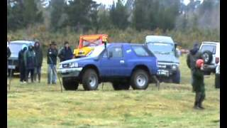Isuzu Mu behaving badly 0001