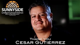 Thanks Cesar Gutierrez VIDEO