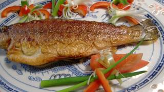 中式 煎魚 Chinese fried fish