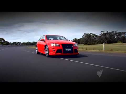 Top Gear Australia - Holden Special Vehicles HSV W427