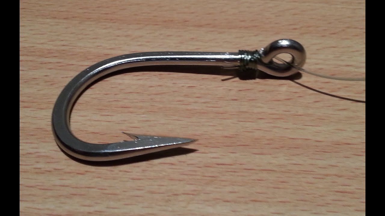 5 snell fishing knot how to snell a hook how to fish for Fishing knots for hooks