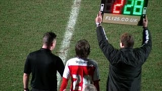 One Direction's Louis Tomlinson plays football for Doncaster Rovers - BBC News
